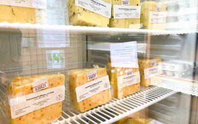 ab sofort frischer Käse